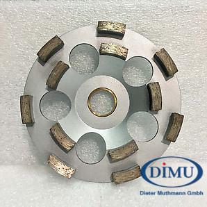 Dimu Diaschleiftopf 2-reih Pro ø 130 mm