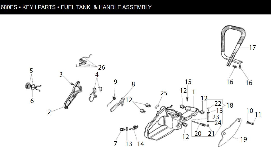 tank  griff ics 680 es ics beton kettensge typ 680gc
