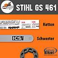 STIHL GS 461- Ketten,Schwerter,Ritzel