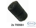 Stahlbürste fein zu FR-100/ VA10L/FR-200